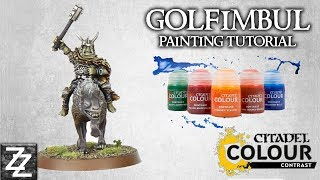 Golfimbul, Orc Chieftain Painting Tutorial! ~ Contrast in Middle Earth