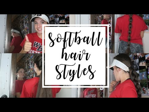 Easy Softball Hairstyles Olivia Lacey