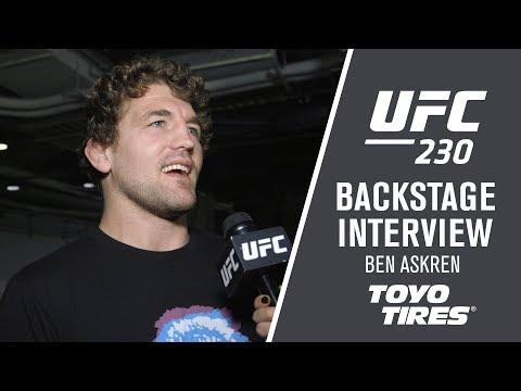 """UFC 230: Ben Askren - """"It's Probably Robbie Lawler"""""""
