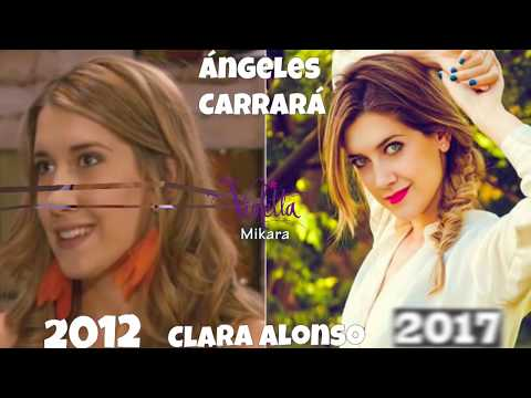 Violetta 2017 Before and After