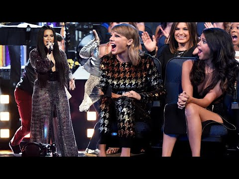 Celebrities REACTING to Demi Lovato's INCREDIBLE VOICE!! - The Emancipation of Hoosiers