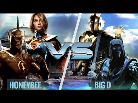 Clones, Magic, Lasers and the Speed Force! HoneyBee vs Big D