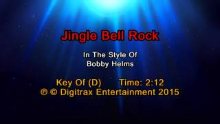 Bobby Helms - Jingle Bell Rock (Backing Track)