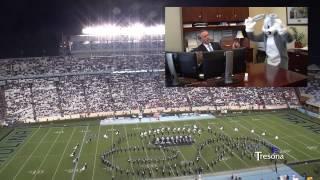 (2013 vs Miami (FL) AMCA Marching Tar Heels - Çizgi film Gösterisi