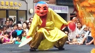 2015 Lion Dance with Buddha - Boston August Moon Festival Múa Lân