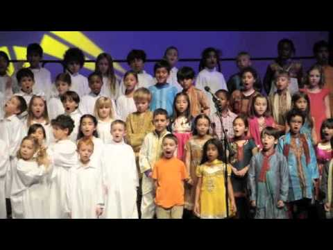 """American School of Doha Gr. 1 Concert  """"The Best Gift of All"""""""
