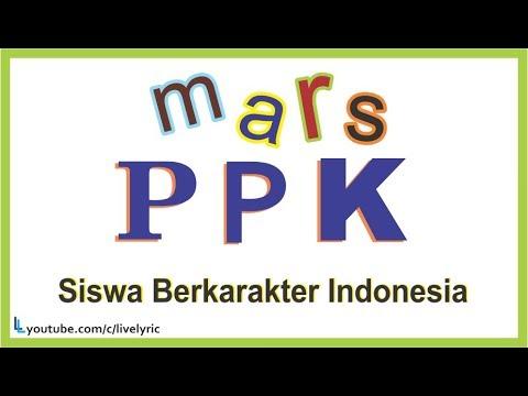 Mars PPK ( Siswa Berkarakter Indonesia ) Lirik Lagu