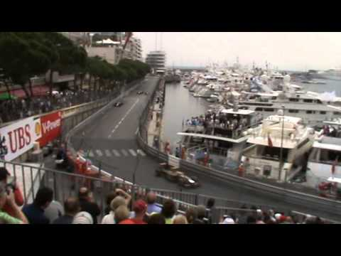 View from top of K1 Grandstand at Monaco Formula 1 Grand Prix 2014