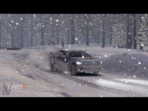 DiRT 4 - Subaru Impreza WRX STI NR4 Onboard Heavy Snow @ Sweden Career