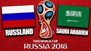 WM Eröffnungsspiel Russland vs. Saudi Arabien - Das MUSST du wissen !! | FIFA WM 2018 Prognose