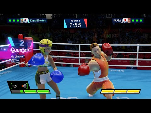 Olympic Games Tokyo 2020: The Official Video Game Gameplay - Boxing |