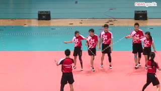 HK wins skipping title (4.8.2014)