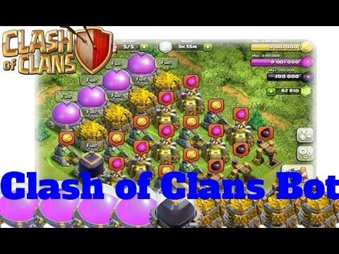 Farm/Loot Millions in Clash of Clans Automatically || Clash of Clans Bot || Clash Farmer Tutorial