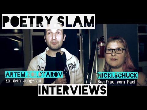 [Backstage Interviews] Poetry Slam Ludwigshafen [DasHaus] 18.11.2016