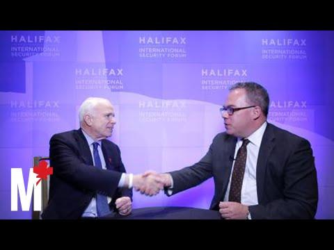 Paul Wells in conversation with John McCain