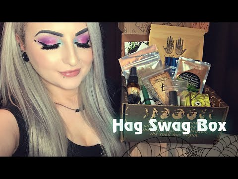 Hag Swag - Monthly Witch Subscription Box Unboxing!