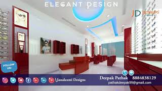 2020 New optical shop interior decoration | Optical store Interior design |