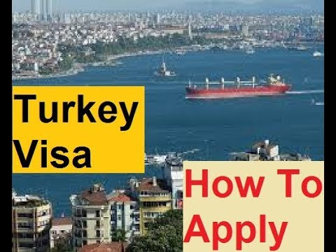 Turkey || How To Apply For  Visa