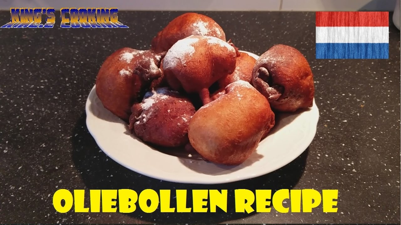 Dutch Oliebollen Recipe Youtube