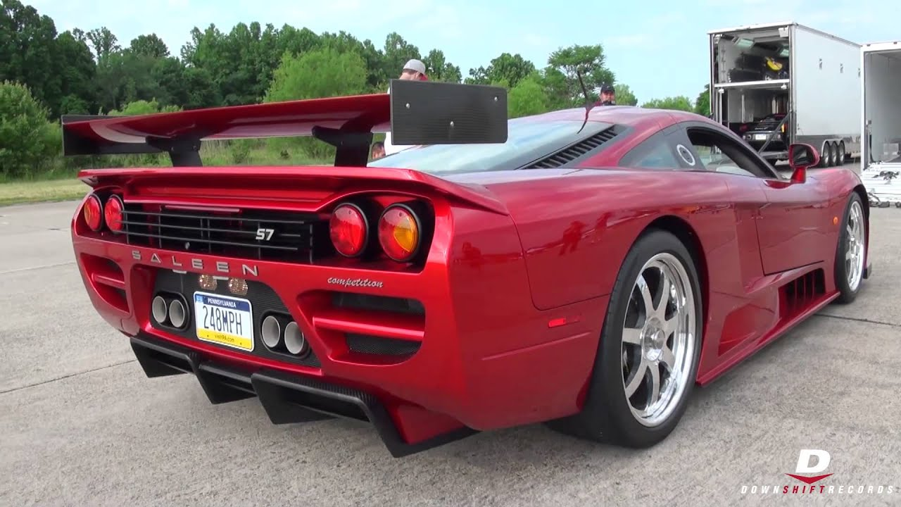 Saleen S7 Twin Turbo Competition // Sound! - YouTube