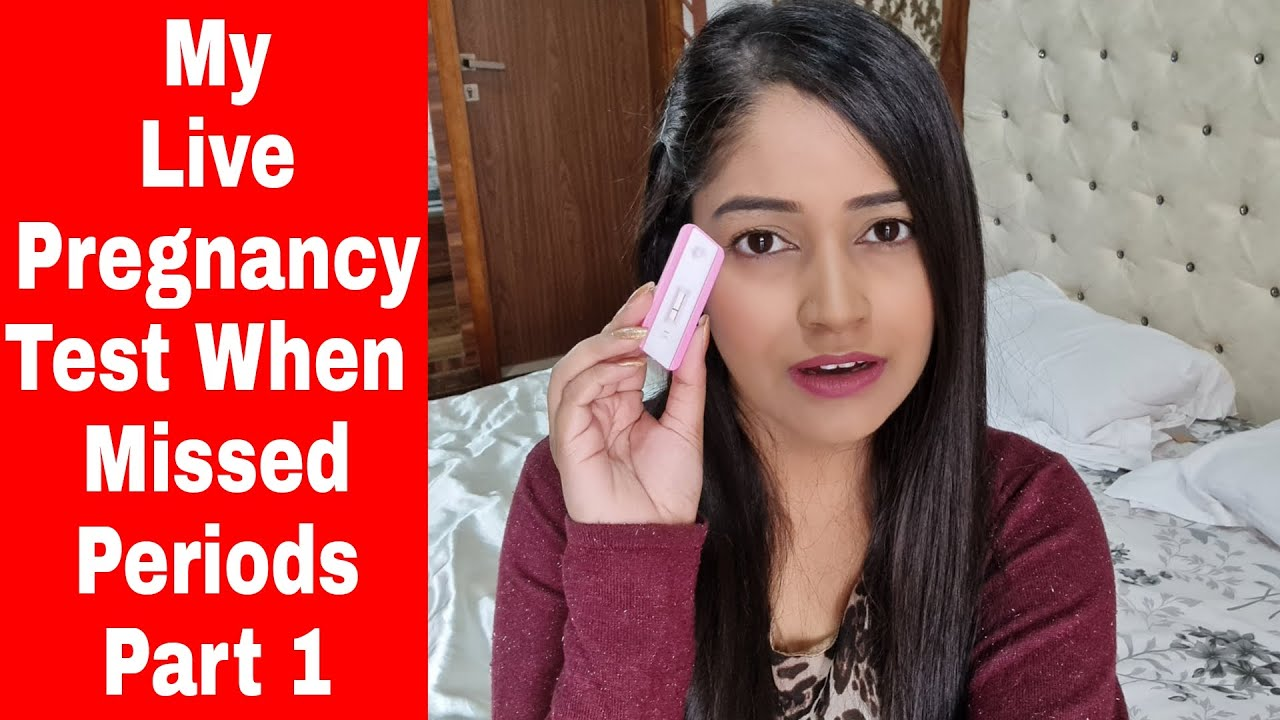 I Did Live Pregnancy Test When I missed my Periods and got Pregancy Symptoms Part 1 |Be Natural