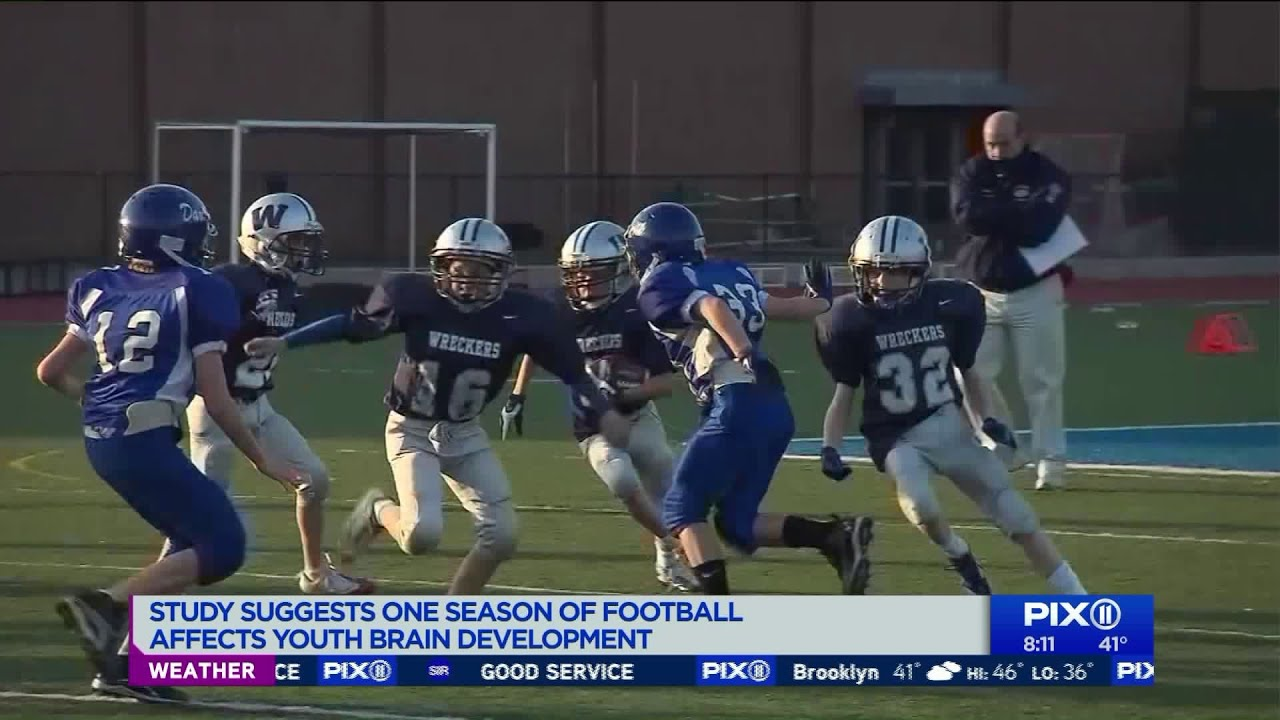 Football Affects Youth Brain >> Football Affects Youth Brain Development After Just One Season