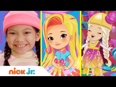 how-to-make-pigtail-side-braids-💁🏻-style-files-hair-tutorial-|-sunny-day-|-nick-jr.