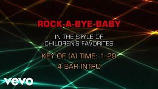 Children's Nursery Rhymes - Rock-A-Bye-Baby (Karaoke)