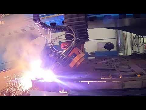 Video Plasma cutting