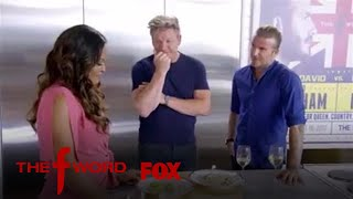 David Beckham & Gordon Ramsay Have A Cook-off | Season 1 Ep. 11 | THE F WORD