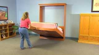 Create-A-Bed® Do-It-Yourself Adjustable Deluxe Murphy Bed Kit - Features & Benefits