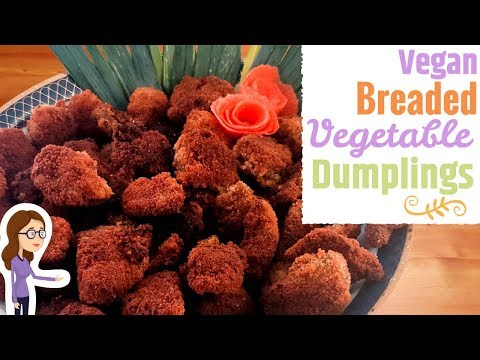 Breaded Vegetable Dumplings – Vegan Recipe