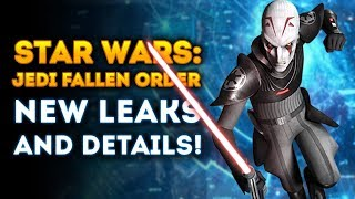 Star Wars: Jedi Fallen Order New Game LEAKS and TONS OF NEW DETAILS! (New Star Wars Game 2019)