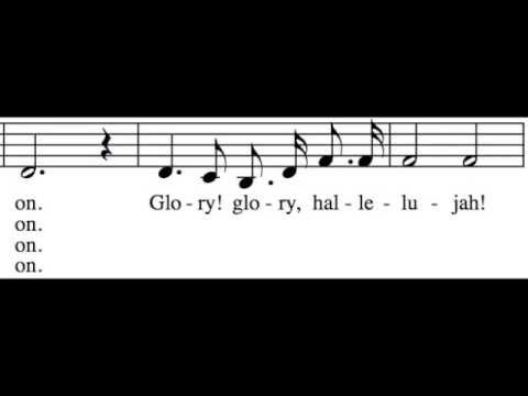 Battle Hymn of the Republic - Alto Only - Learn How to Sing Hymns