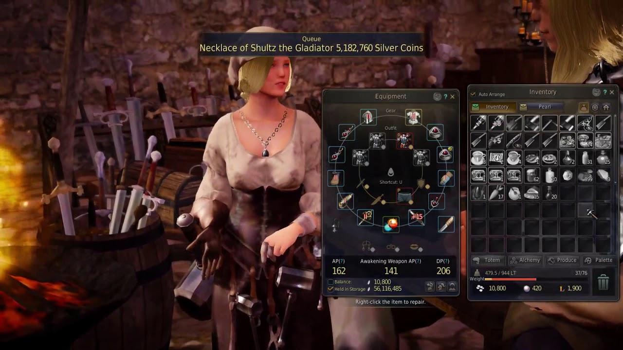 black desert online how to tell gears score