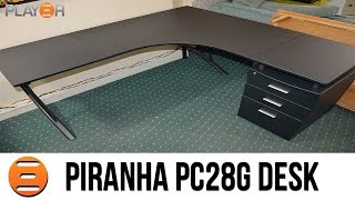 Piranha Regal (pc28g) Corner Desk Build Timelapse - Play3r