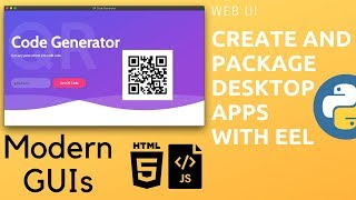 Python Eel - Create and Package Desktop Apps | Modern GUIs with HTML and JavaScript