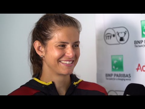 DAZN / FED CUP-Interview mit Julia Görges