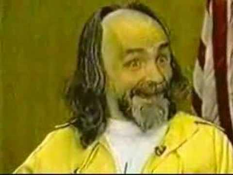 Charles Milles Manson >> Charles Manson Goes Insane - YouTube