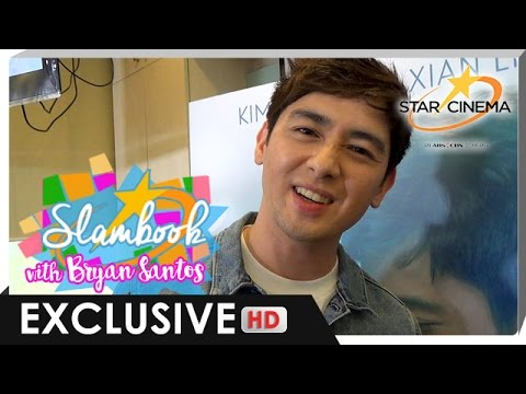 Bryan Santos answers the Star Cinema Digital Slambook