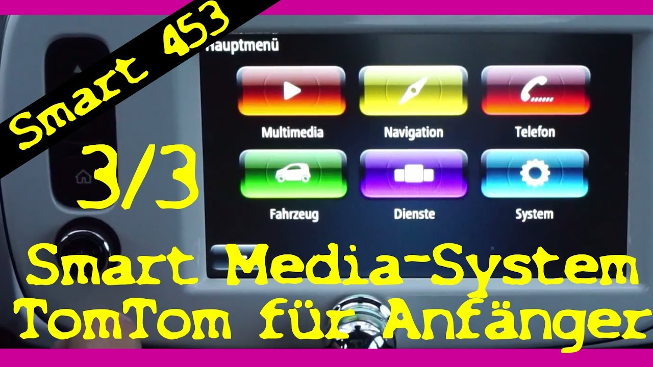 smart 453 media system erkl rt f r anf nger teil 3 3. Black Bedroom Furniture Sets. Home Design Ideas