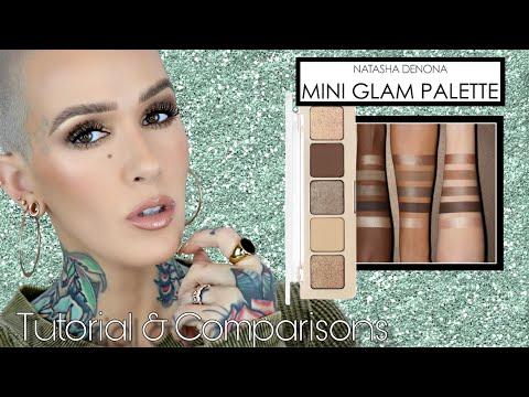 NEW Natasha Denona Mini Glam Palette Review, Comparisons & Tutorial
