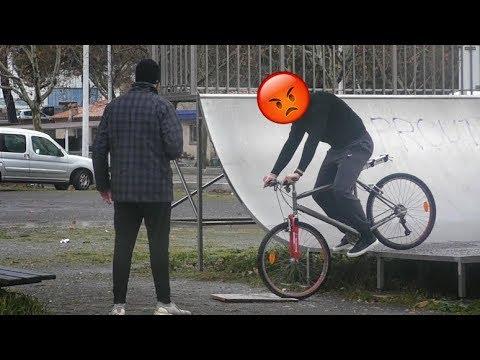 Rendre FOU une RACAILLE voleur de VÉLO sur LE BON COIN