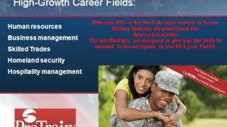 ProTrain MyCAA/Military Spouse Video