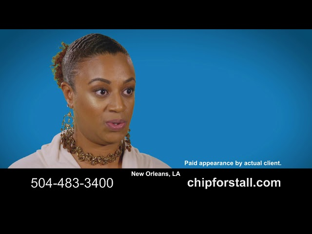 Client Testimonial for New Orleans Personal Injury Lawyer Chip Forstall