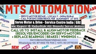 MTS Automation Dubai Servo Motor Encoder Align Resolver Repair UAE Oman Kuwait Qatar Saudi KSA