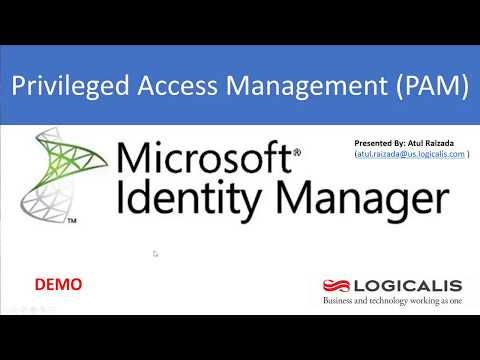 Privileged Access Management DEMO