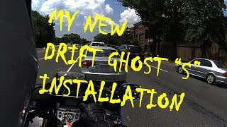 "The Wingman installs the new Drift Ghost ""S"" on his Helmet"