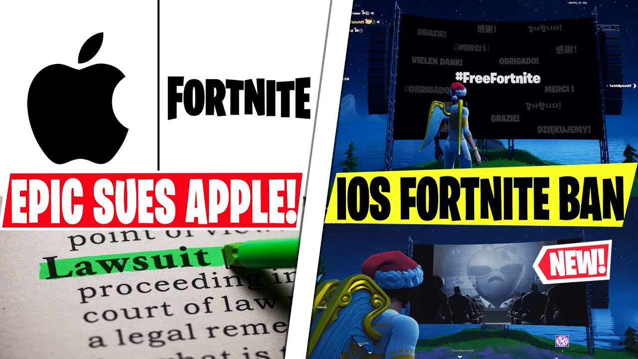 FORTNITE Is Suing APPLE Explained! *Fortnite IOS Ban* Season 4 Not Playable & Lawsuit Reason!
