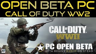 OPEN BETA PC COD WW2 - DATE E INFO + UPDATE INFINITE WARFARE [ITA]